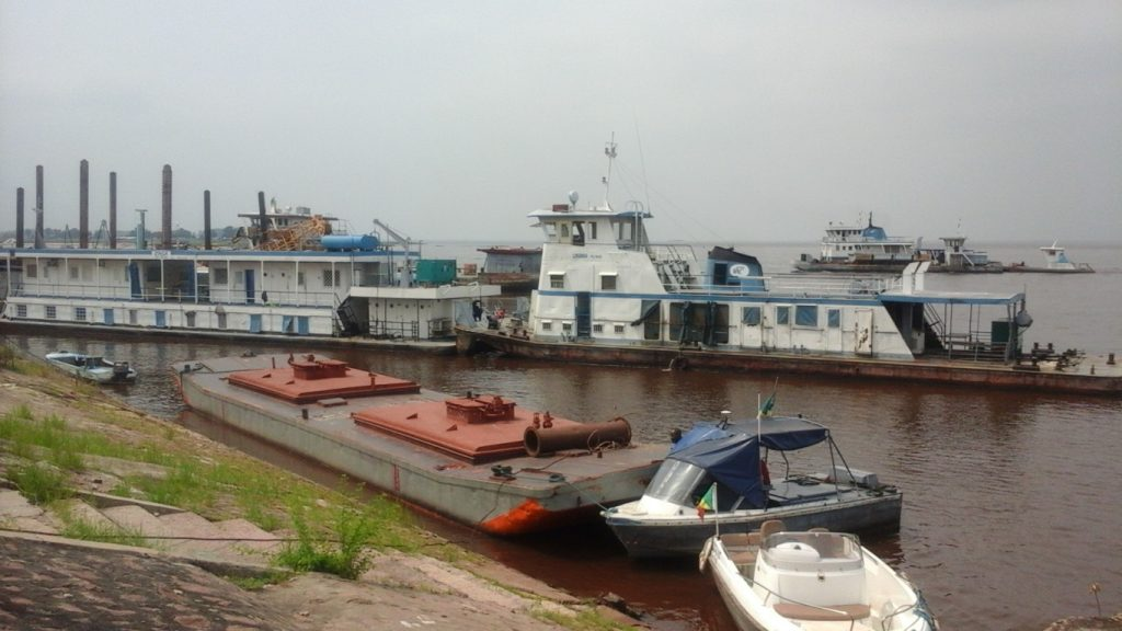 port de Brazzaville