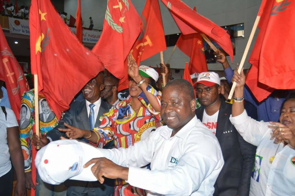 Pierre Ngolo, secrétaire général du PCT