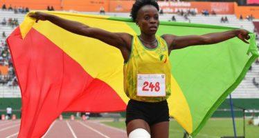 Jeux de la Francophonie: Doublé 100-200 pour la Congolaise Natacha Ngoye Akamabi