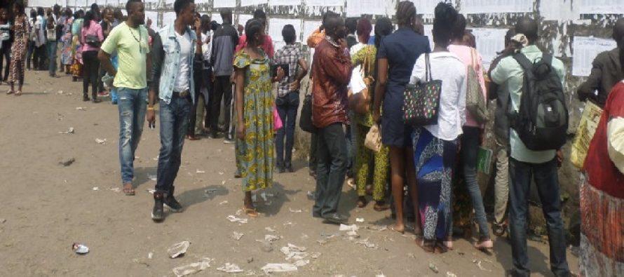 Congo : 22 286 candidats sur 80 559 présentés ont été déclarés admis au Baccalauréat général