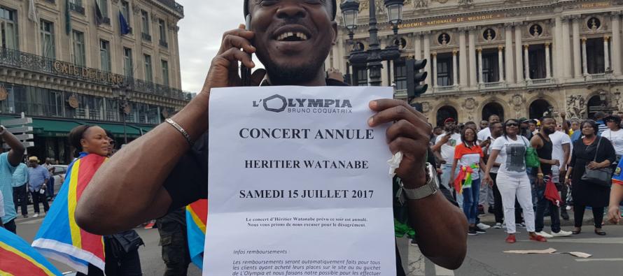Le concert d'Héritier Watanabe annulé par le préfet de Paris à la suite des manifestations des combattants