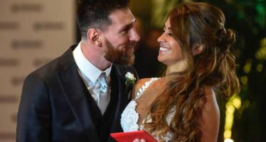 EN IMAGES – Du beau monde au mariage de Lionel Messi et Antonella