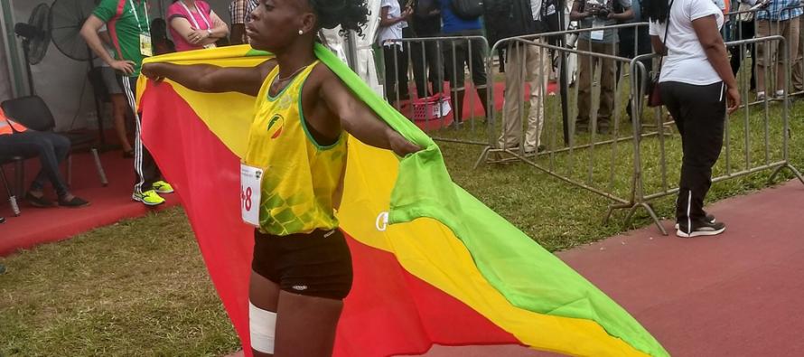 Jeux de la Francophonie : Natacha Ngoye offre une deuxième médaille d'or au Congo