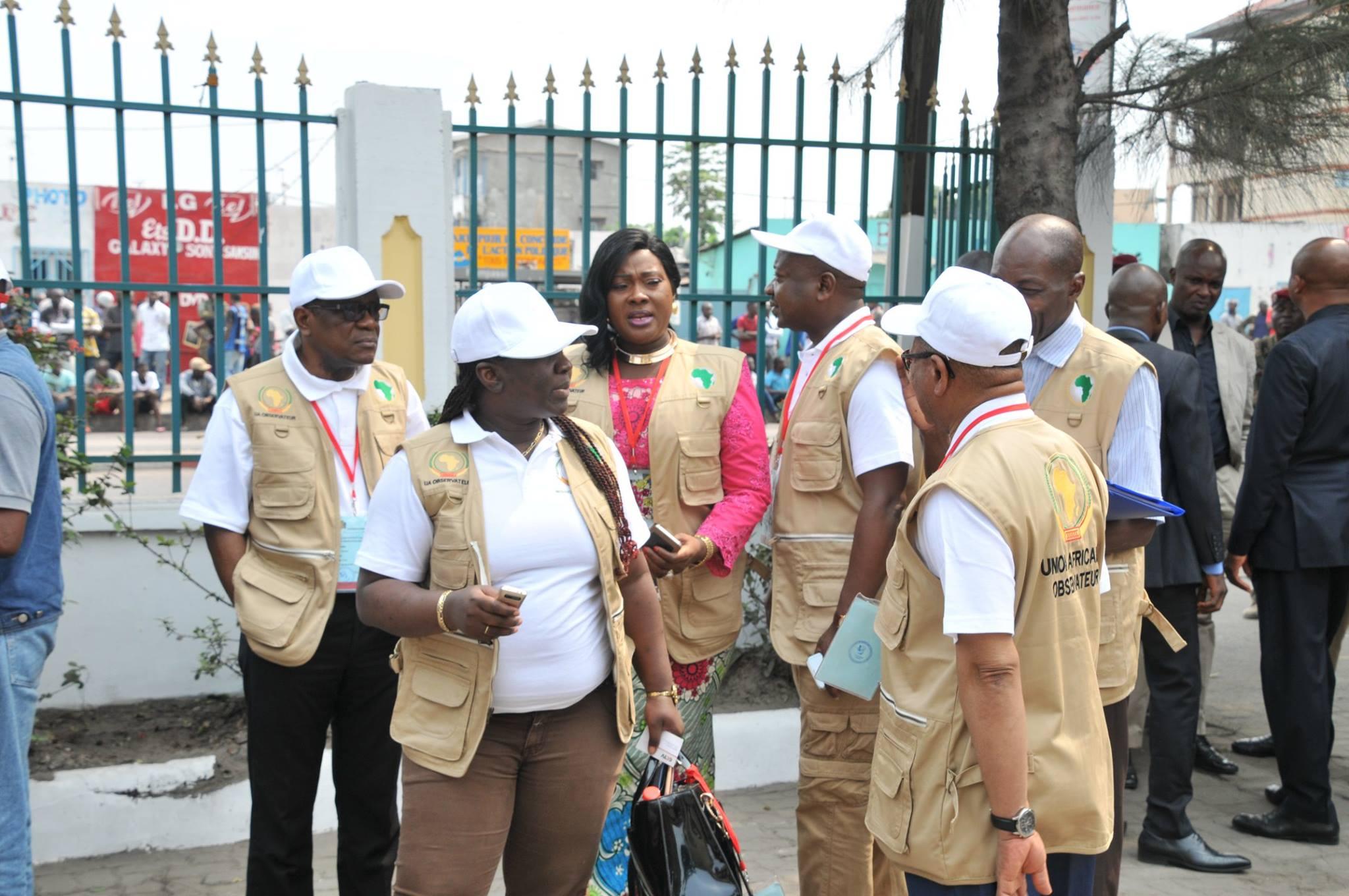 La mission d'observation de l'Union africaine (UA) au Congo