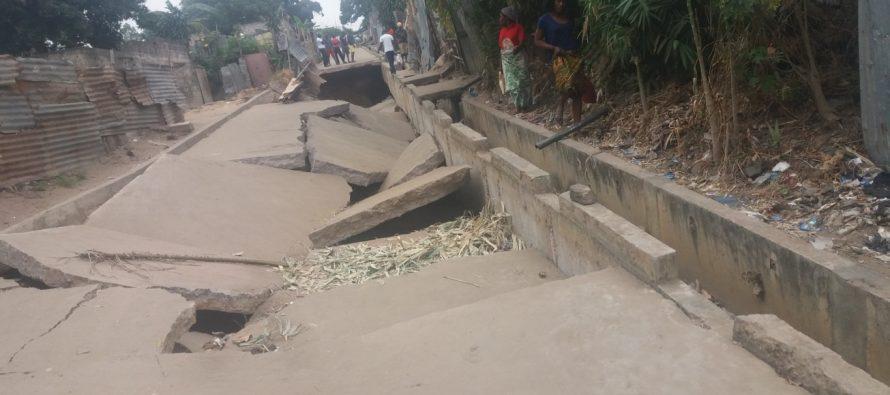 Brazzaville – Arrêt sur image : Rue Nabemba, quartier Jacques Opangault