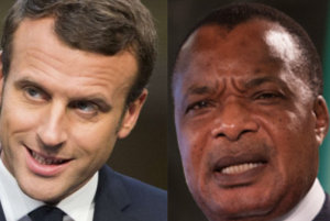 Macron et Sassou Nguesso
