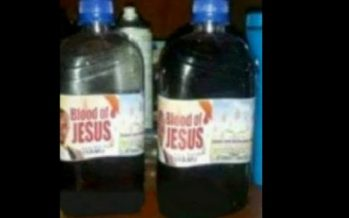 Malawi: Un pasteur prétend vendre «le sang de Jésus» dans des bouteilles en plastique