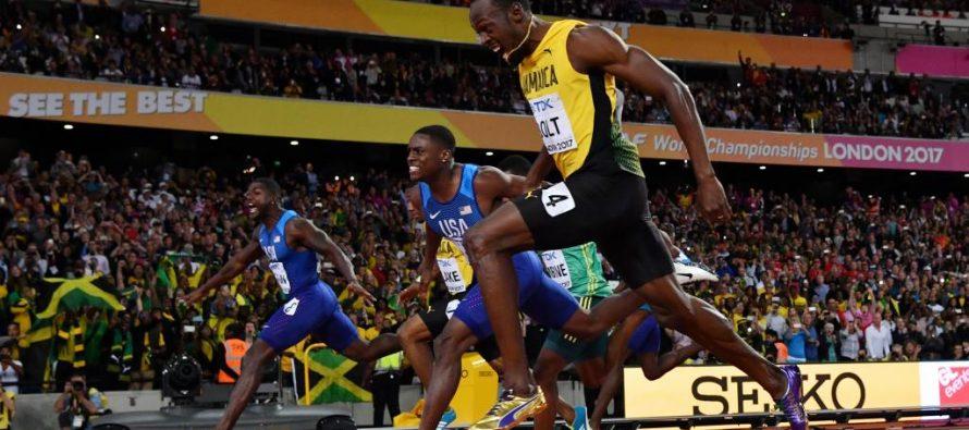 VIDÉO – Mondiaux d'athlétisme : le roi Usain Bolt échoue devant Justin Gatlin et s'offre le bronze