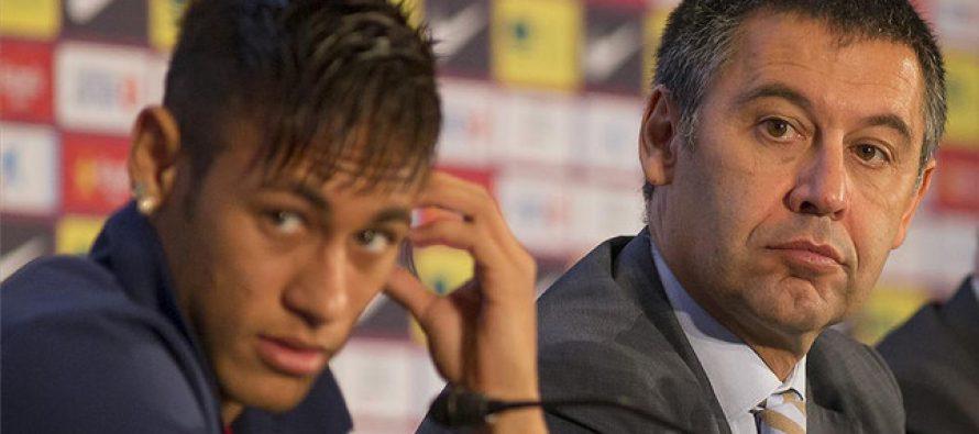Le président du Barça Bartomeu sur Neymar : «Ce club est à nous, il n'appartient ni à un cheikh, ni à un oligarque»