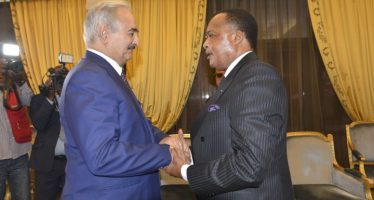 Congo – crise  libyenne : le maréchal Khalifa Haftar réaffirme à Brazzaville son engagement pour la négociation