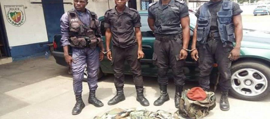 Pointe-Noire : de faux policiers appréhendés par la sécurité publique