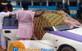 RCI /Bouaflé: Un taxi transformé en salle d'accouchement