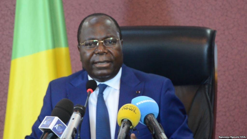 Le Premier ministre congolais Clément Mouamba