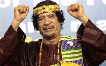 Il y a six ans l'OTAN assassinait le colonel Mouammar Kadhafi 20 octobre 2011-20 octobre 2017