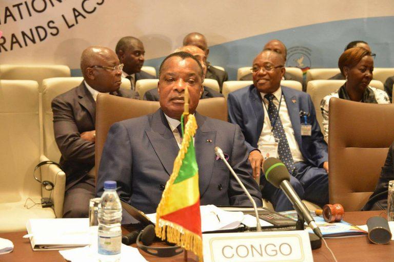 Le président congolais Denis Sassou Nguesso