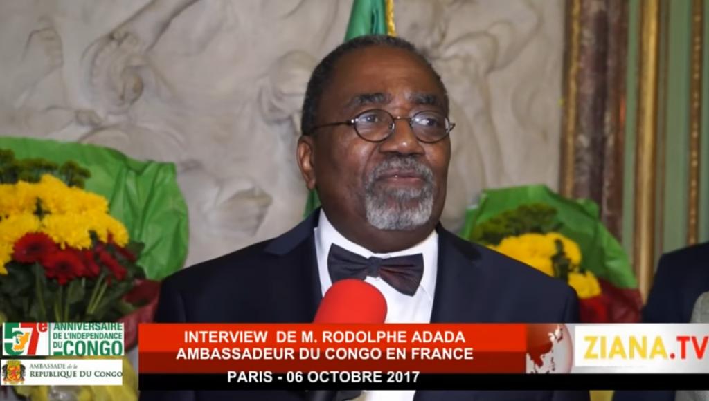 L'ambassadeur Rodolphe Adada