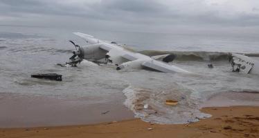 VIDÉO Côte d'Ivoire – Crash d'un avion aux larges d'Abidjan : Au moins trois morts