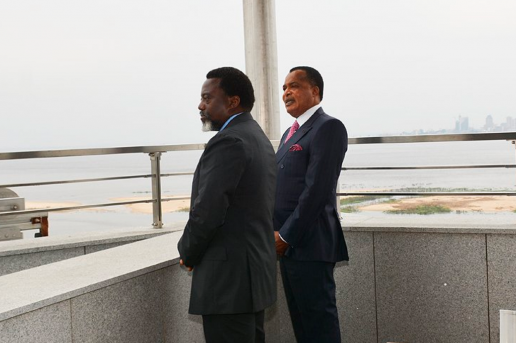 Joseph Kabila et Denis Sassou Nguesso