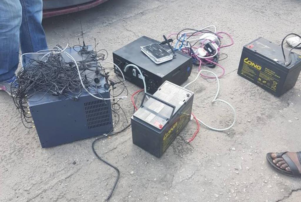 Du matériel Sim Box retrouvé chez le fraudeur à Pointe-Noire
