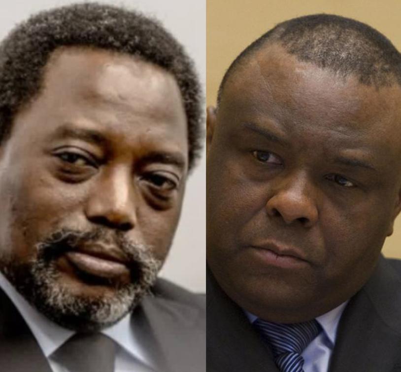 Joseph Kabila et Jean-Pierre Bemba