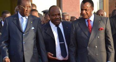 CEMAC: Denis Sassou Nguesso et Ali Bongo Ondimba boycottent le sommet d'Idriss Déby à N'Djaména