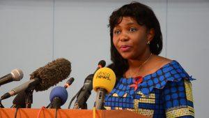 La ministre de la santé et de la population, Jacqueline Lydia Mikolo