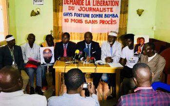 Congo – Liberté de la presse : Des organisations de la société civile demandent la libération de Ghys Fortuné Dombe-Bemba