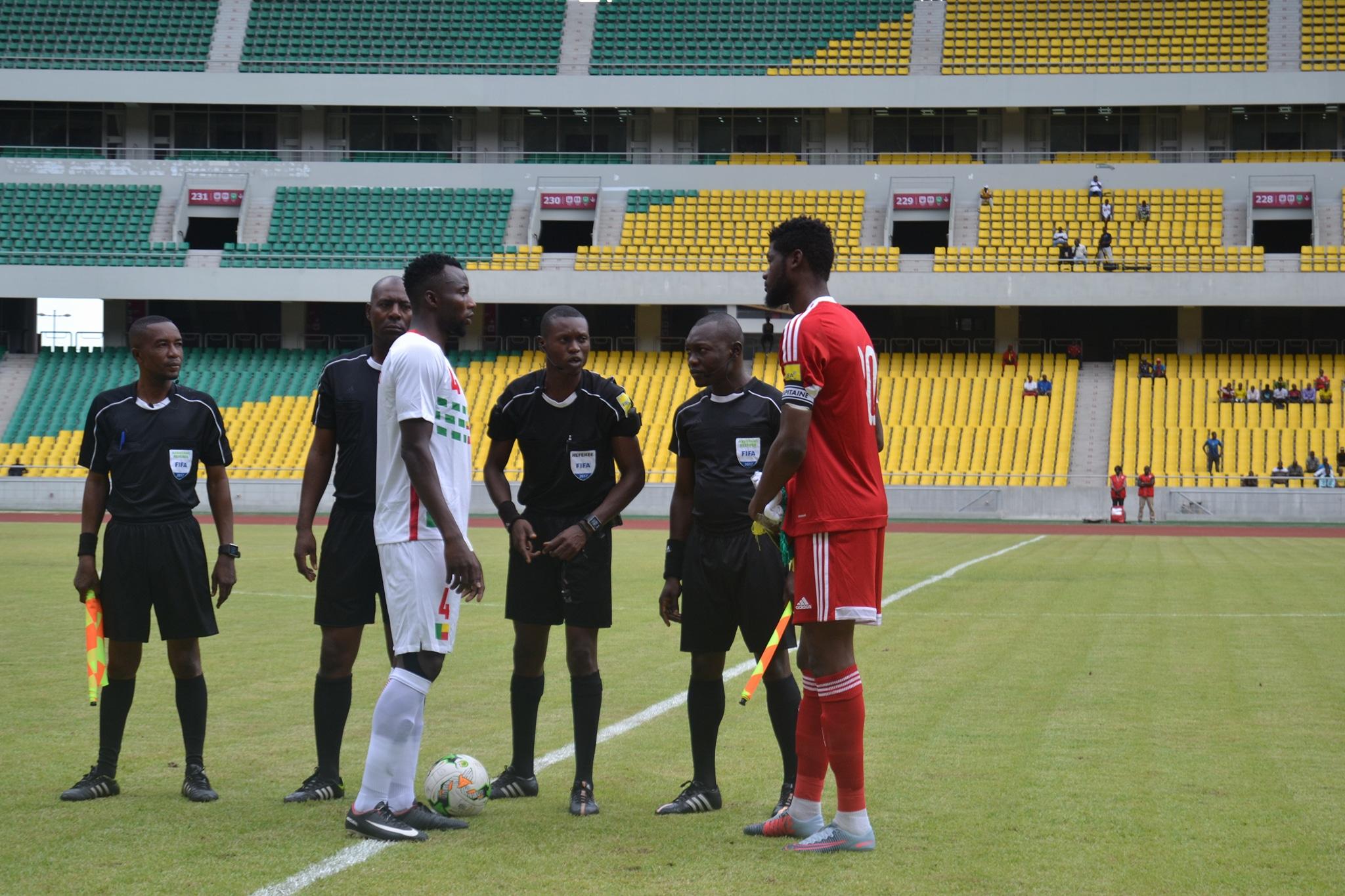 match nul entre le Congo et le Bénin