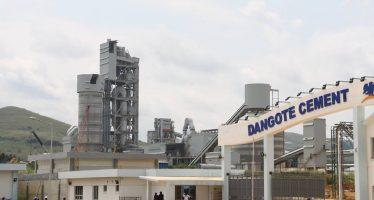 Industrie : bientôt l'inauguration de Dangote Cement Congo