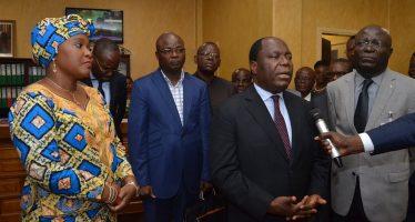 VIDEO – Congo : Clément Mouamba touche du doigt la triste réalité du CHU