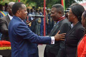 Denis Sassou N'Guesso et Zoba Casimir Zao