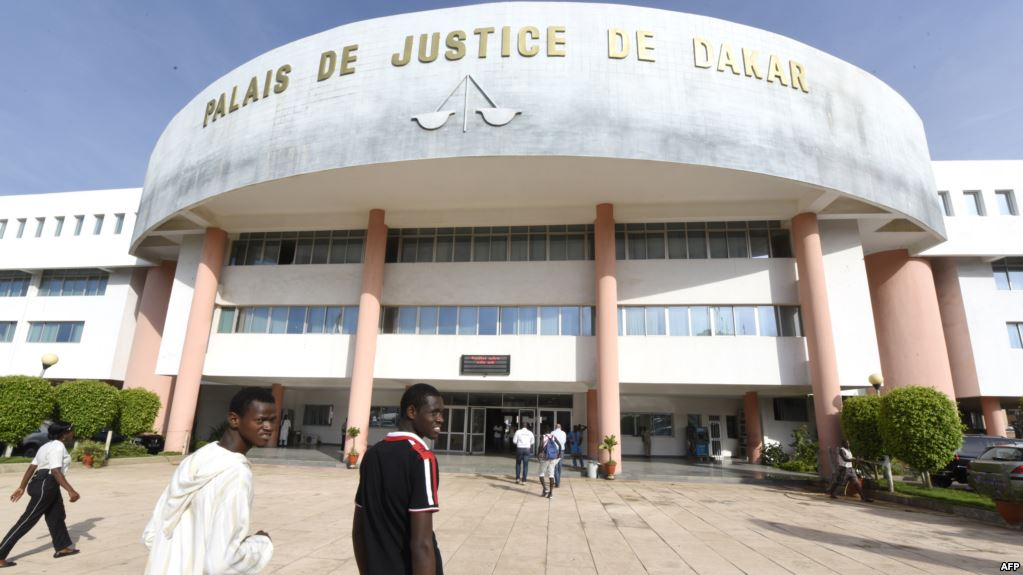Le Palais de justice de Dakar, Sénégal, le 21 septembre 2015.
