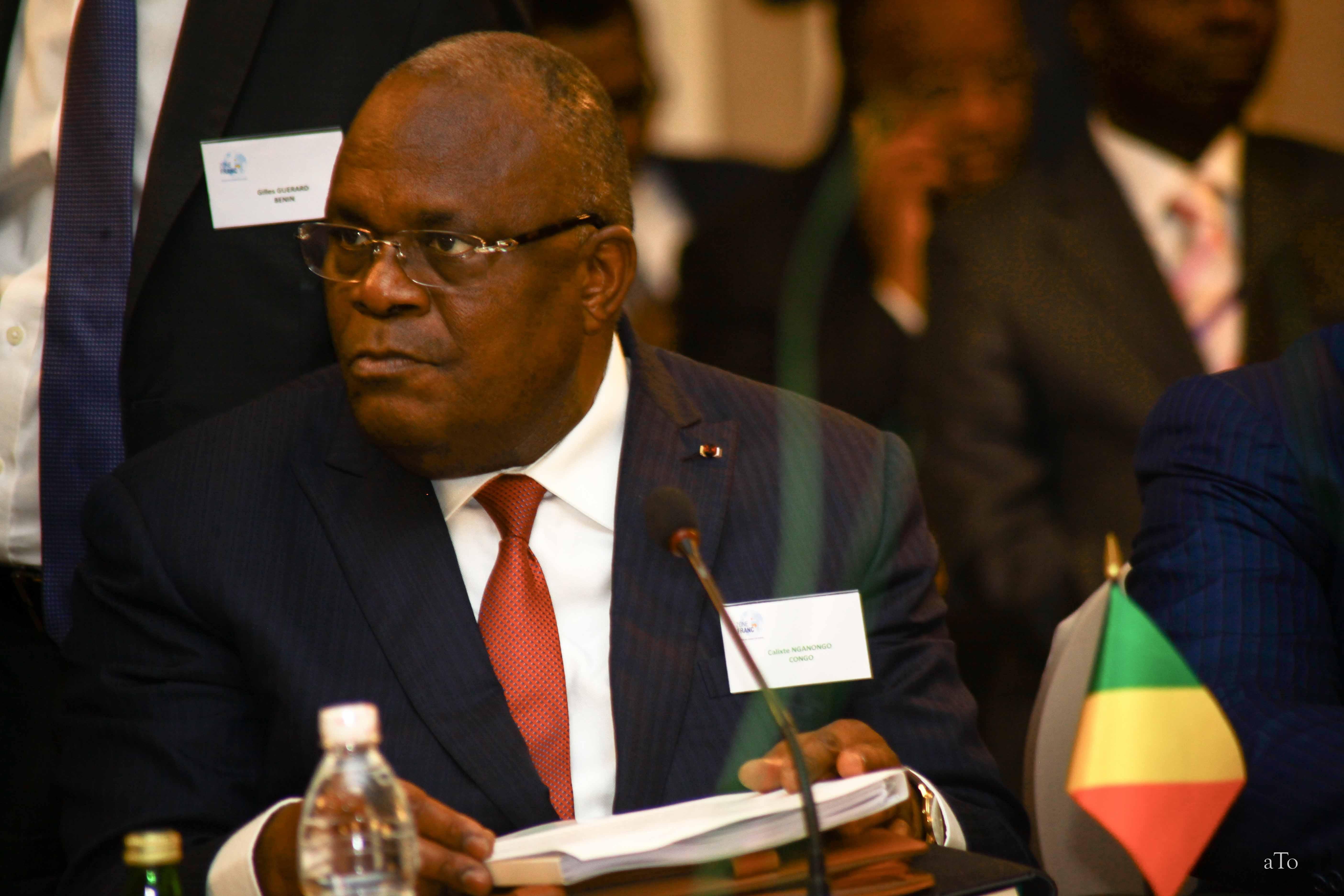 Calixte Ganongo, ministre congolais des Finances