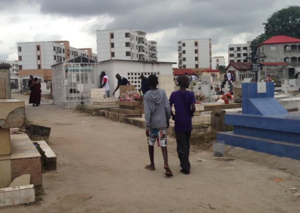 cimetières de Brazzaville