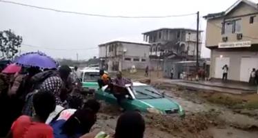 Congo : Une pluie diluvienne cause des inondations à Brazzaville