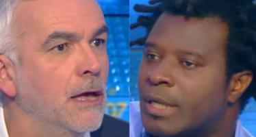 Le geste de Patrice Evra a entraîné un gros clash sur le plateau de CNews