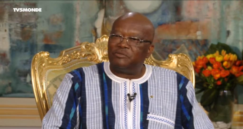 le président burkinabè, Roch Marc Christian Kaboré