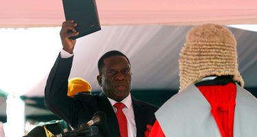 Au Zimbabwe, le nouveau président Mnangagwa promet de « réduire la pauvreté de tous »