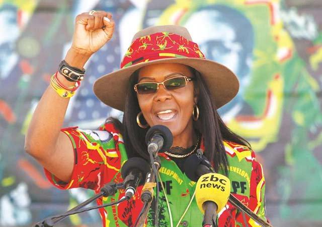La Première dame du Zimbabwe Grace Mugabe