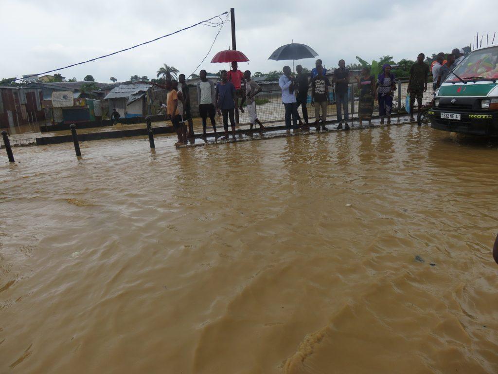 pluies au Congo Brazzaville