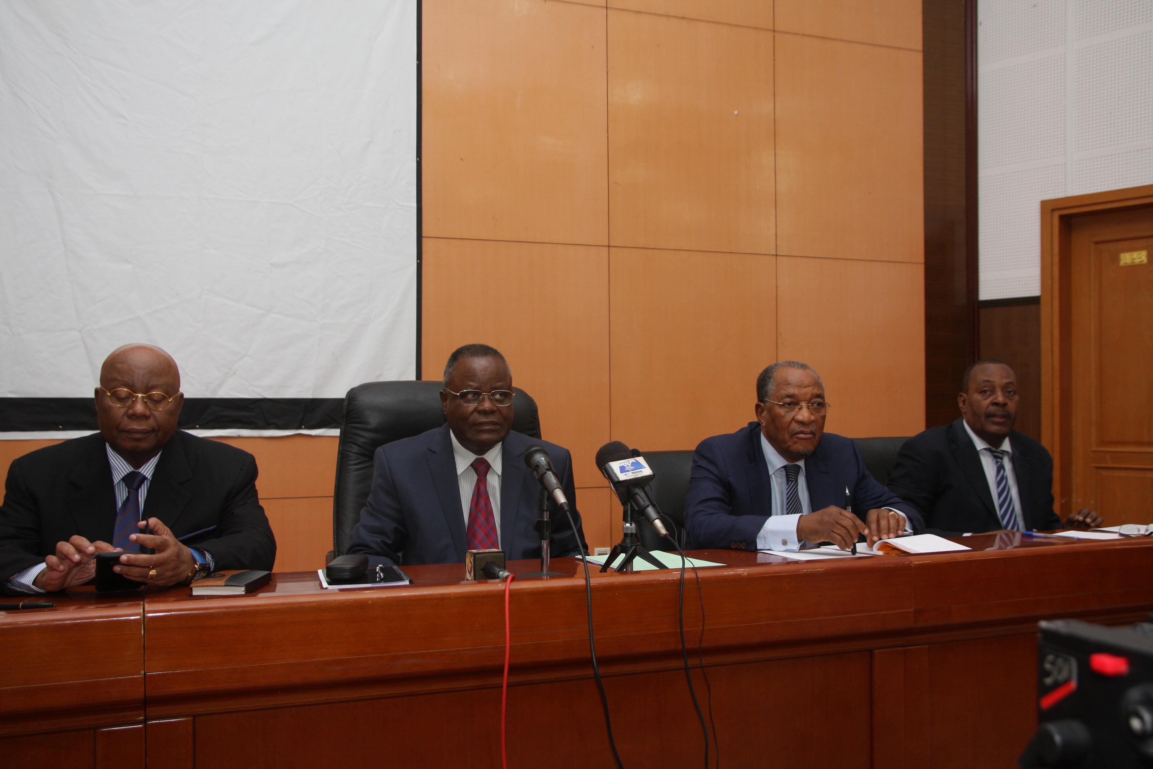 Le collectif des partis de l'opposition congolaise