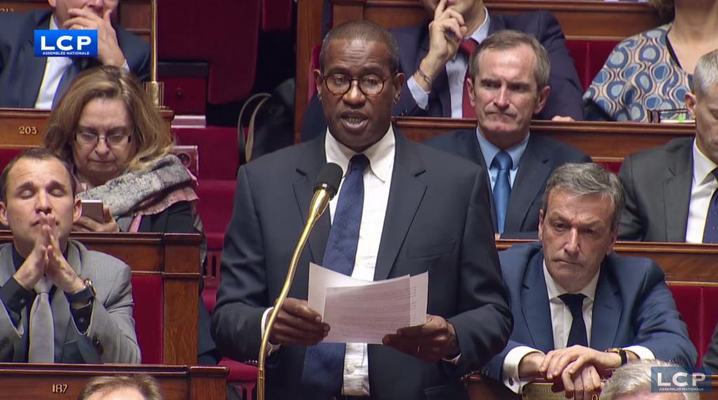 Le député de Guadeloupe Max Mathiasin