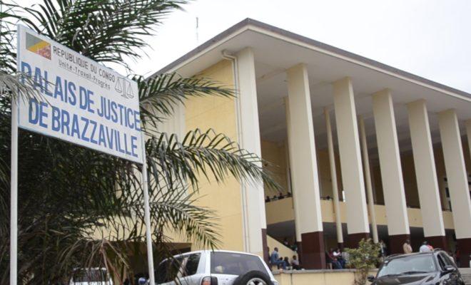Le Palais de justice de Brazzaville