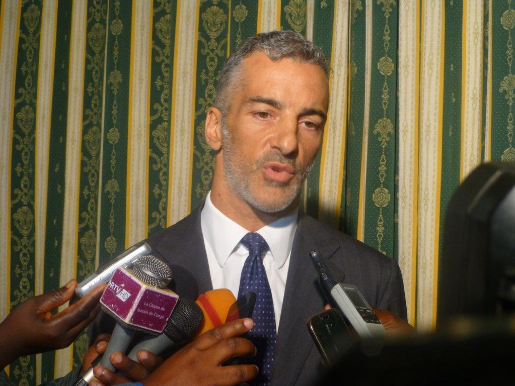 L'ambassadeur d'Italie au Congo, Andréa Mazzella
