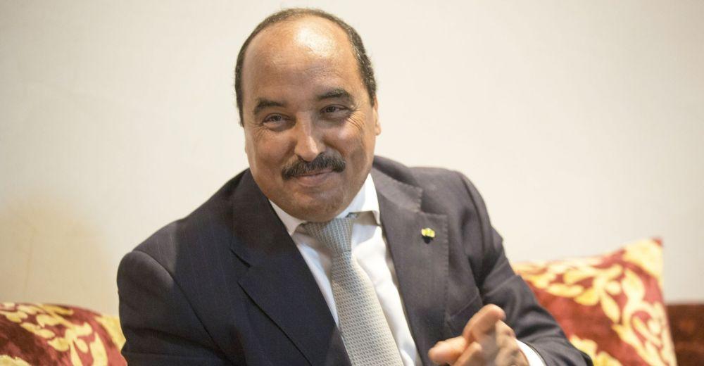 Le président de la Mauritanie, Mohamed Ould Abdel Aziz