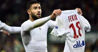 Saint-Etienne – OL : Fekir façon Messi, la célébration qui passe mal…