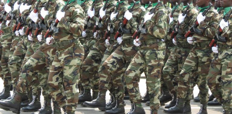 des Forces armées congo