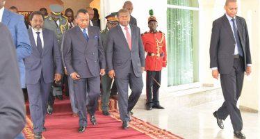 Congo : réunion au sommet entre le président Sassou et ses homologues Kabila et Lourenço