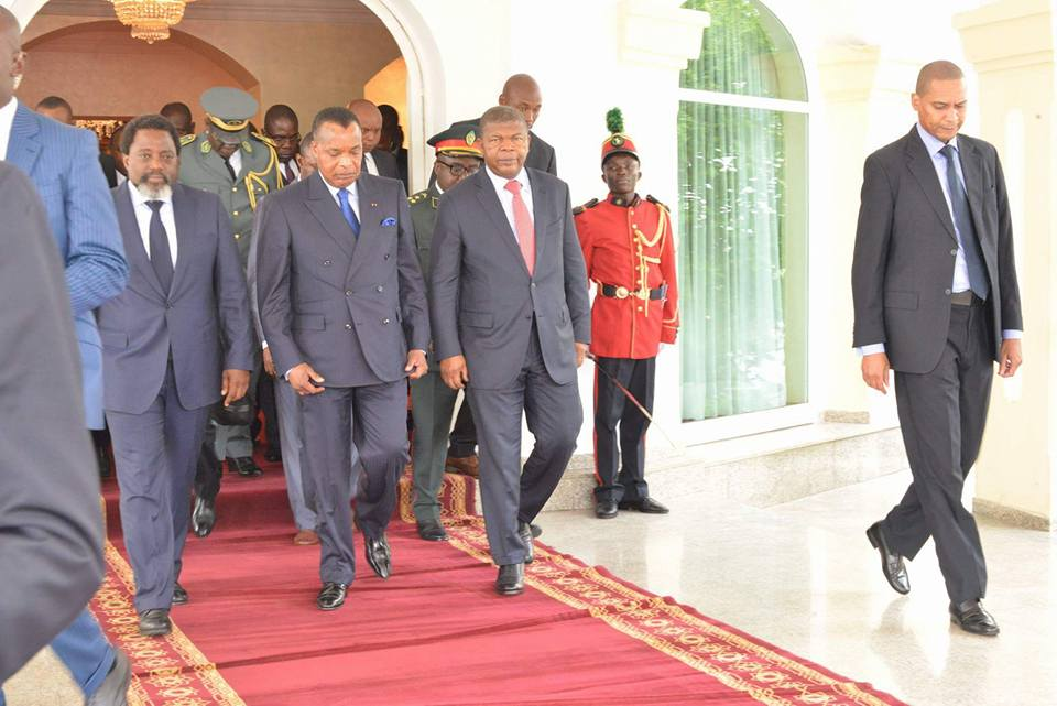 Sassou et ses homologues Kabila et Lourenço