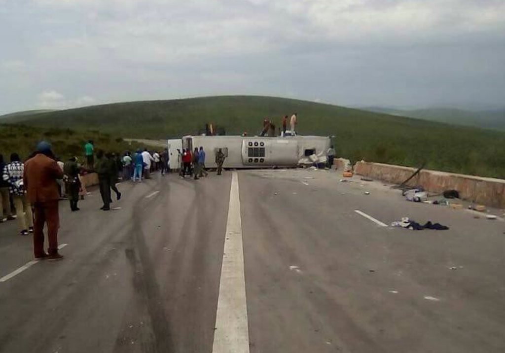 Route Brazzaville-Pointe-Noire : Cinq morts dans un accident de circulation à Mayama